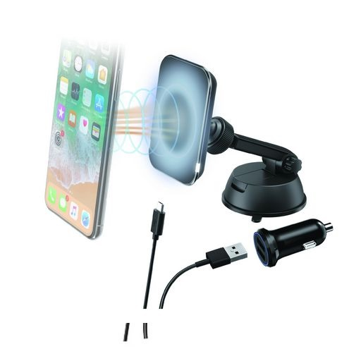 Magnetic Wireless Car Charger Windscreen Mount