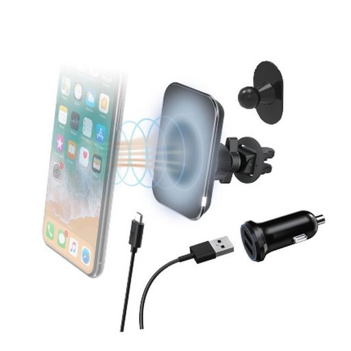 Magnetic Wireless Car Charger Vent Mount
