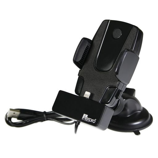 In Car Phone Cradle With Suction Mount For iPhone
