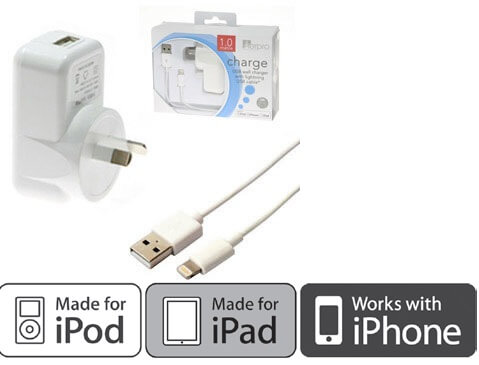 iPhone and iPad Chargers
