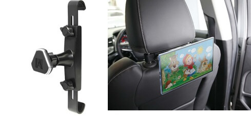 Magmate Magnetic Headrest Mobile Device Mount