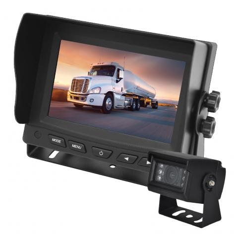 5 Inch Gator Commercial Grade Dash Mount Display Reverse Camera Kit GT500SD
