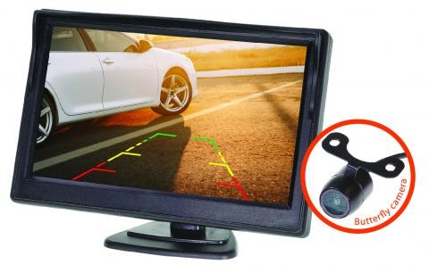 5 Inch Gator Dash Mount Display Reverse Camera Kit GRV50KT