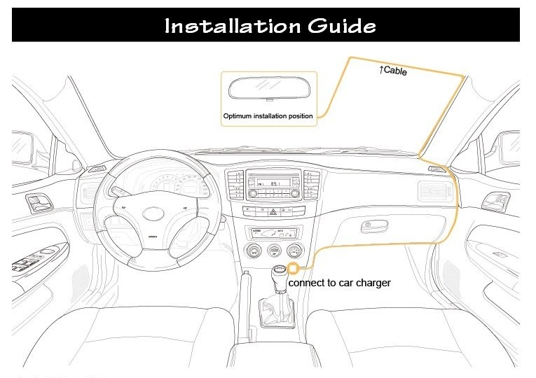 Car Dashcam Installation Guide