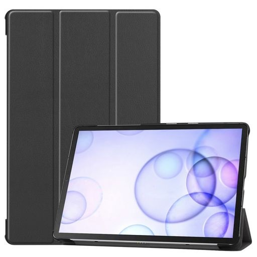 Galaxy Tab S6 Multi-fold Leather Case And Stand Black
