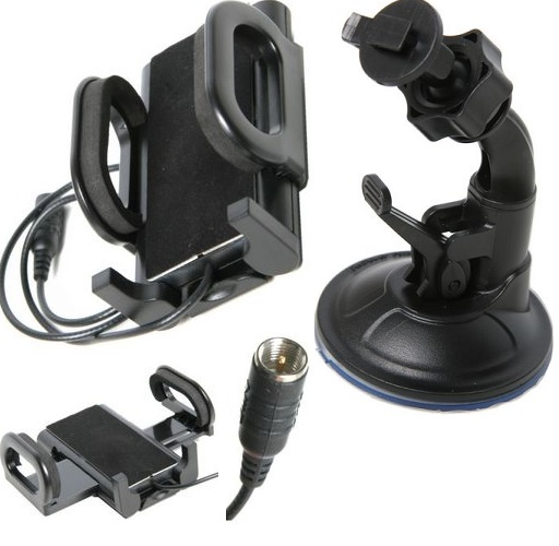 Universal Car Cradle Antenna Patch Lead Cradle - Passive Type Suction Mount