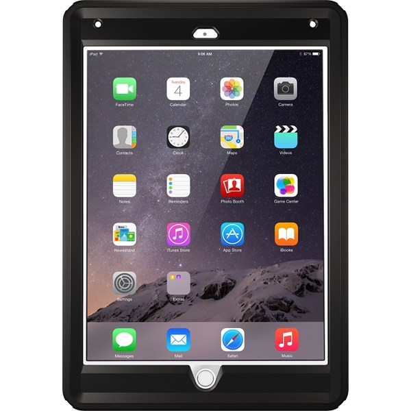 OtterBox Defender Case suits iPad 9.7 (2017/2018) Black