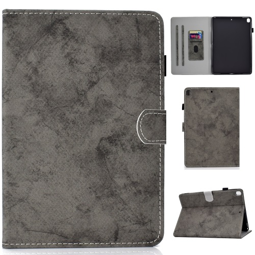 iPad 7th Gen PU Leather Case Gray