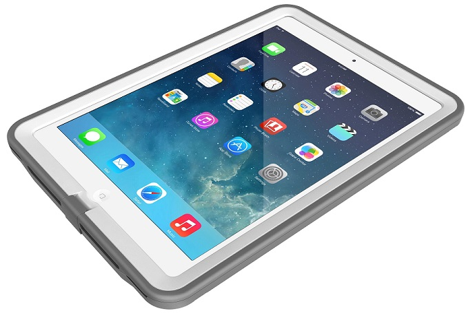 LifeProof Fre Case For iPad Air White Grey