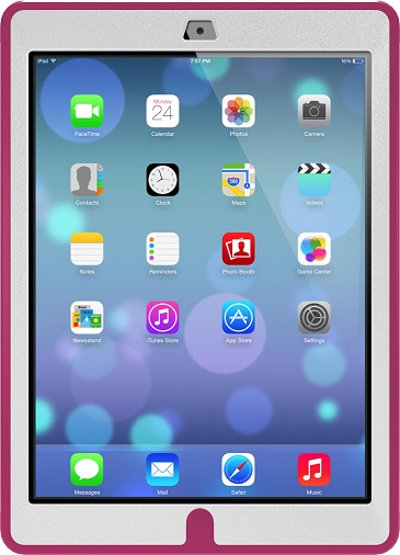 iPad Air OtterBox Defender Case White And Pink