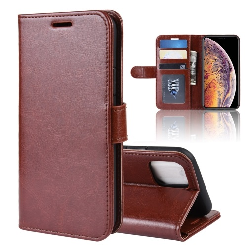 Wallet Case For iPhone 11 Pro Max Brown