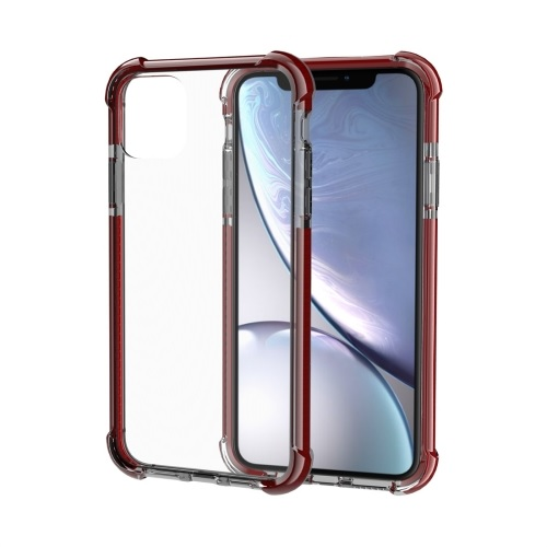 Shockproof TPU And Acrylic Protective Case For iPhone 11 Pro Brown