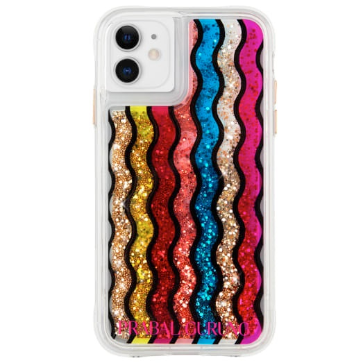 Case-Mate Prabal Gurung Case For iPhone 11 And iPhone XR Rainbow Waterfall
