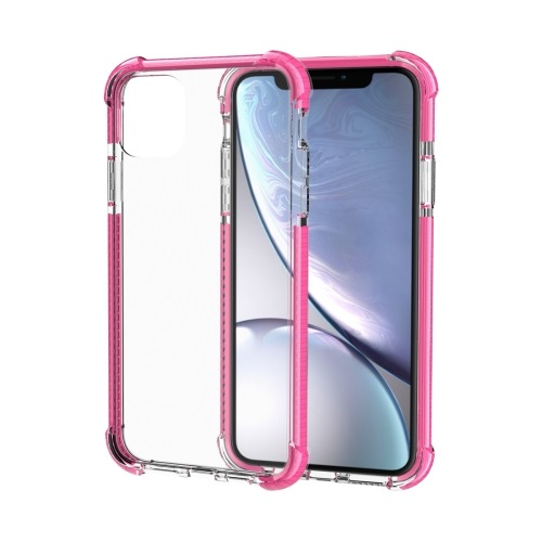 Shockproof TPU And Acrylic Protective Case For iPhone 11 Pink