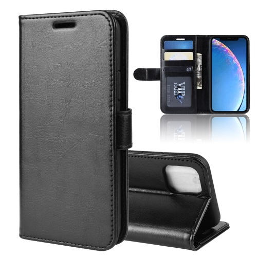 Wallet Case For iPhone 11 Black