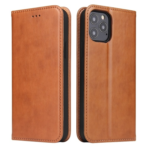 iPhone 12 Mini Wallet Case Brown