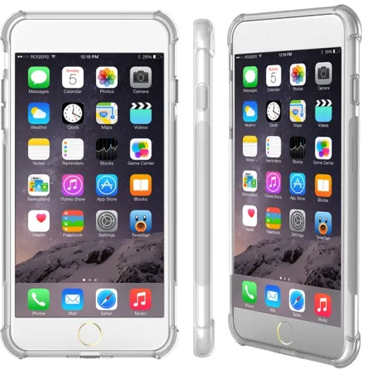 Cleanskin TPU Case Crystal For iPhone SE 2020\8\7