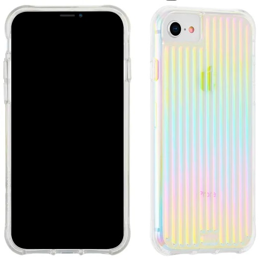 Case-Mate Tough Groove Case Iridescent For iPhone SE 2020\8\7\6s\6