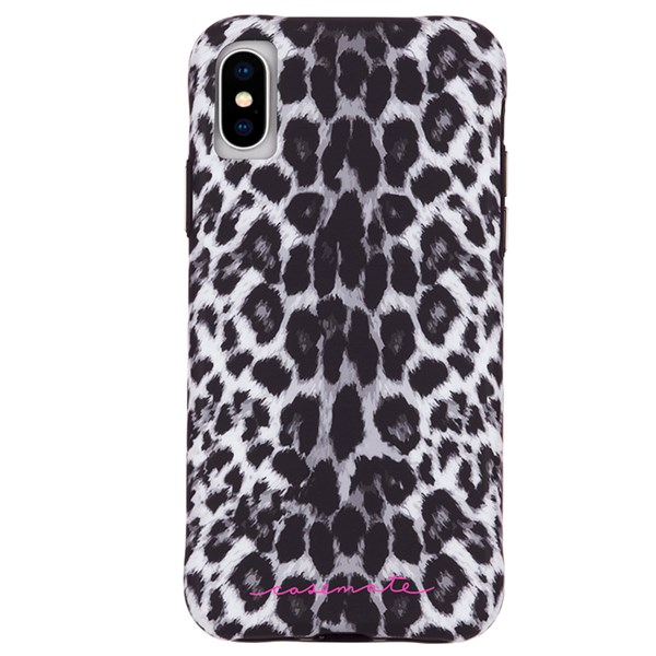 Case-Mate Wallpaper Street Case suits iPhone X And Xs Grey Leopard