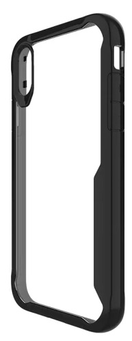 Cleanskin ProTech PC/TPU Case Clear And Black For iPhone Xs And iPhone X