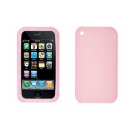 Apple iPhone 3GS Silicon Case Pink