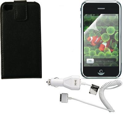 Apple iPhone 3GS Accessory Triple Pack