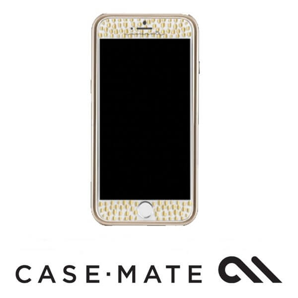 Case-Mate Guilded Glass Screen Guard Gold