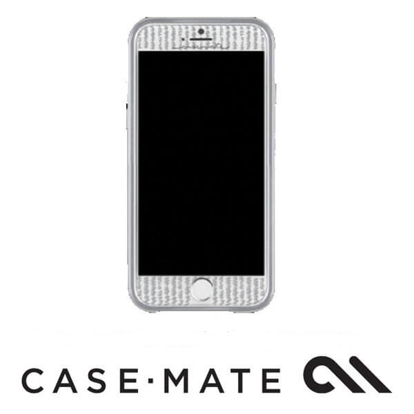 Case-Mate Guilded Glass Screen Guard Silver