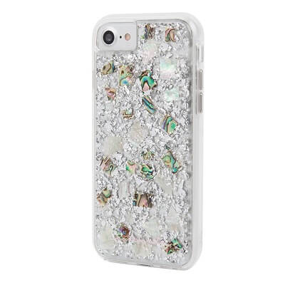 Case-Mate Karat Case suits iPhone 6S Mother of Pearl