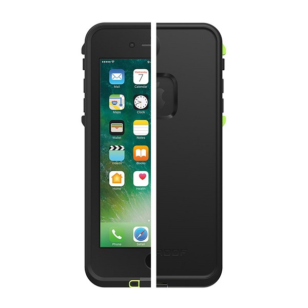 LifeProof Fre Case suits iPhone 8 Plus Black Lime