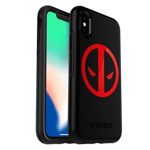 OtterBox Symmetry Marvel Case For iPhone X And iPhone XS Deadpool