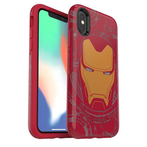 OtterBox Symmetry Marvel Case For iPhone X And iPhone XS Iron Man