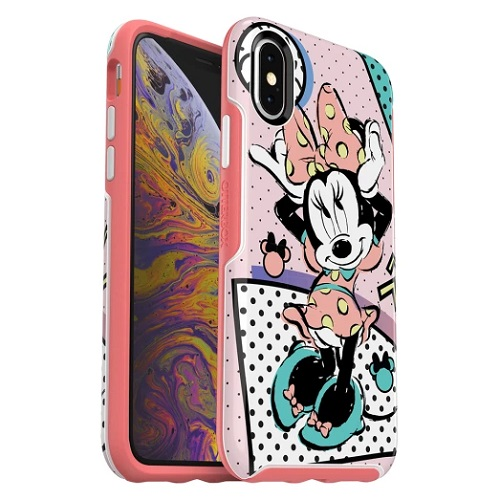 OtterBox Symmetry Disney Classic Case For iPhone X And iPhone XS Rad Minnie