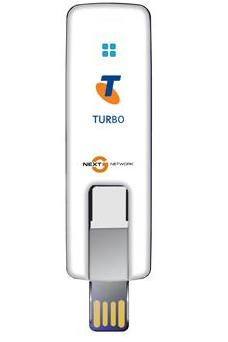 Telstra Turbo Prepaid Wireless Modem MF626i