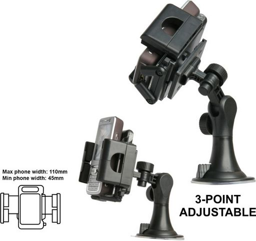 Universal Windscreen Mount Large Cradle