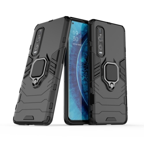 Oppo Find X2 Pro Tough Case Black