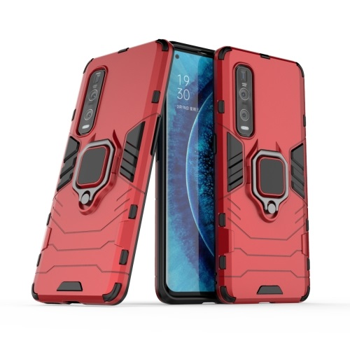 Oppo Find X2 Pro Tough Case Red