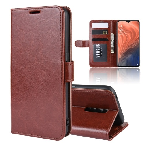 Oppo Reno Z PU Leather Case Brown