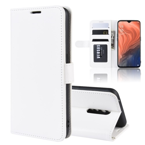 Oppo Reno Z PU Leather Case White
