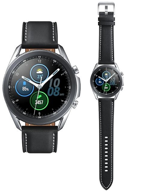 Samsung Galaxy Watch3 Bluetooth 45mm Mystic Silver