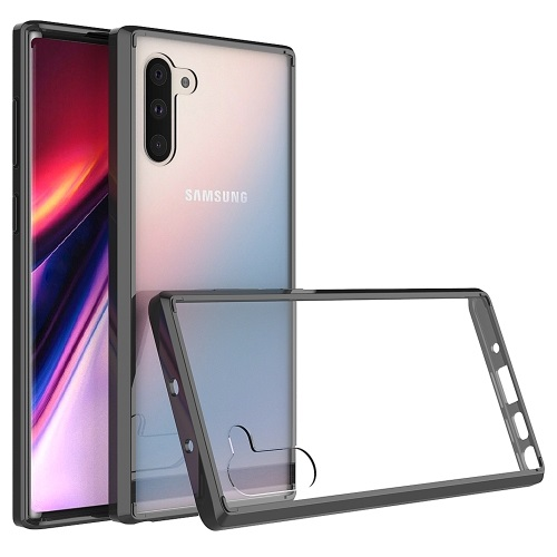 Samsung Galaxy Note 10 Case Clear And Black
