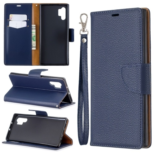 Samsung Galaxy Note 10 Plus Wallet Case Blue