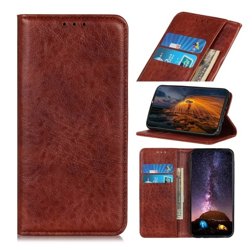 Samsung Galaxy S20 FE PU Leather  Case Brown
