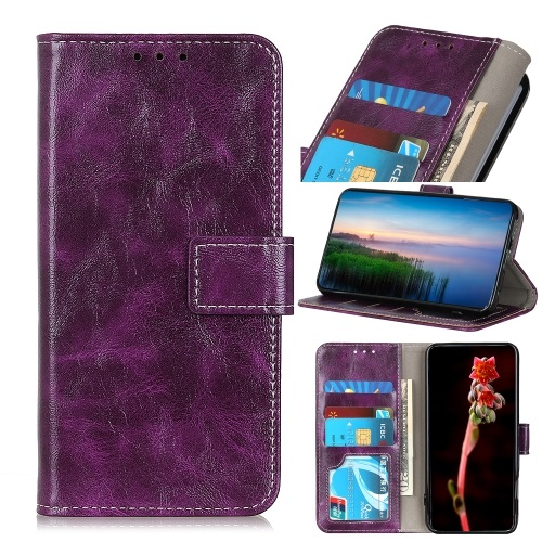 Samsung Galaxy S20 FE PU Leather  Case Purple