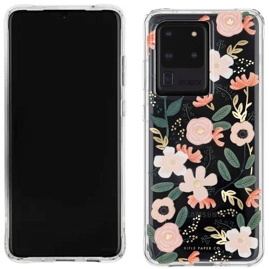Case-Mate Rifle Paper Case Wildflowers For Galaxy S20 Ultra