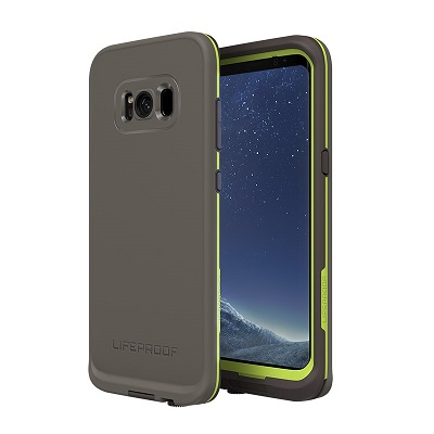 LifeProof Fre Case For Samsung Galaxy S8 Plus  Dark Grey/Slate Grey/Lime