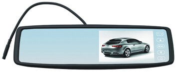 4.3 inch Strike Rear View Mirror Clip-On Monitor
