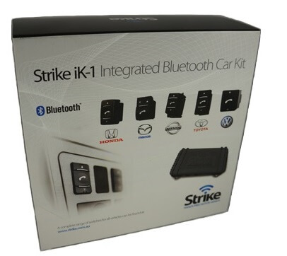 Strike iK-1 Universal Bluetooth Car Kit Pack