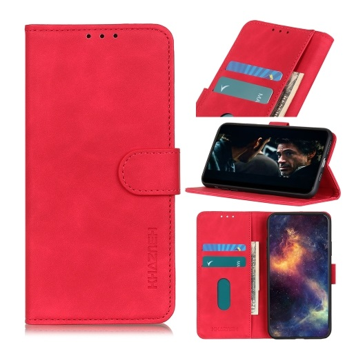 Telstra Essential Smart 3 Wallet Case Red